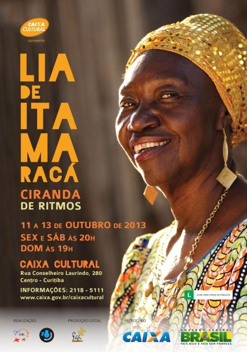 Em outubro na Caixa Cultural de Curitiba