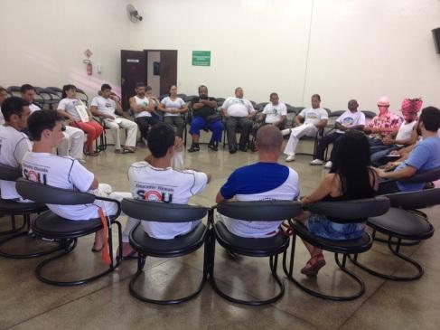 Reunião do Comitê de Salvaguarda da Capoeira no Paraná