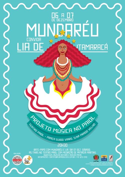 Mundaréu convida Lia de Itamaracá