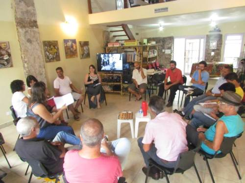 Reunião para planejamento de ações de salvaguarda do Fandango