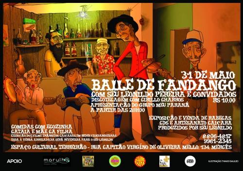 Baile de Fandango com Seu Leonildo Pereira e convidados