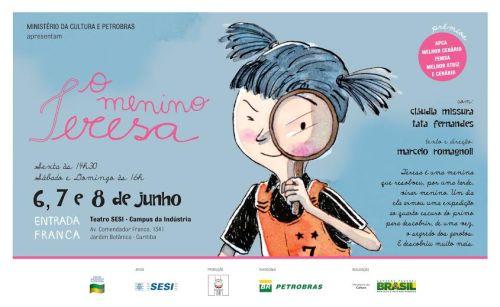 Banda Mirim volta a Curitiba com o espetáculo O Menino Tereza